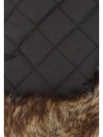 Womens Faux Fur Thinsulate Gloves