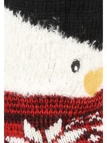 Womens Penguin Novelty Slipper Socks