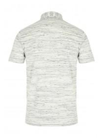 Mens Basic Textured Polo Shirt
