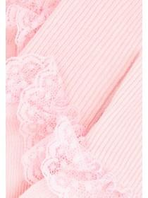Baby Girls 3pk Pink Frill Socks