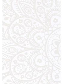 White Paisley iPhone Case