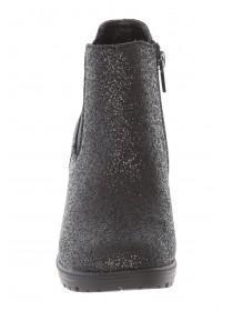 Older Girls Black Glittery Boot