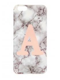 Rose Gold A Phone Decal
