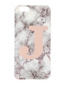 Rose Gold J Phone Decal