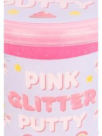 Pink Glitter Unicorn Putty