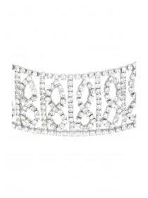 Womens Diamante Chocker