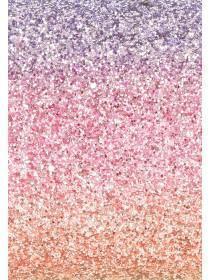Womens Rainbow Glitter Cosmetic Bag