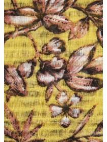 Womens Floral Print Pashmina