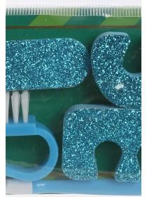 Womens Teal Pedicure Set