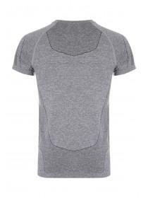Mens Charcoal Seamless Texture T-Shirt