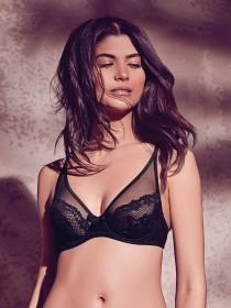 Womens Non Padded Underwired Daisy Bra