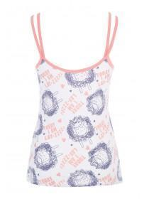 Womens Novelty Pyjama Cami