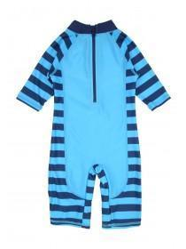 Younger Boys Blue Shark Sunsafe Swimsuit