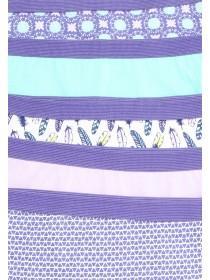 Older Girls 5PK Purple Shorts