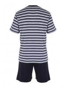 Mens Dark Blue Loungewear Set