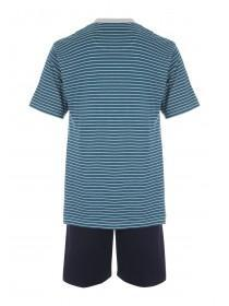 Mens Teal Loungewear Set