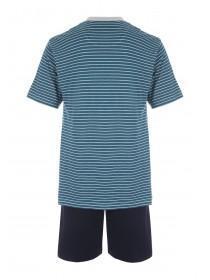 Mens Teal Loungewear Set