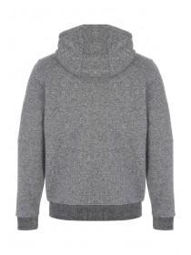 Mens Grey Zip Hoody