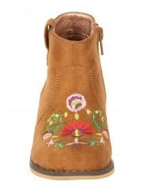 Younger Girls Embroidered Boots