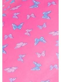 Supermini Pink Butterfly Umbrella
