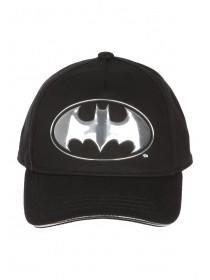 Older Boys Black Batman Baseball Cap