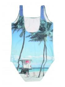 Older Girls Blue Beach Vibes Swimsuit