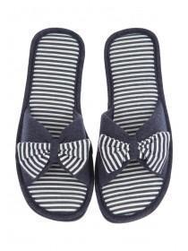 Womens Blue Spa Slipper
