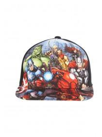 Older Boys Black Avengers Snapback