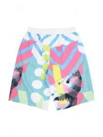 Older Boys White Shark Swim Shorts