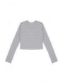 Older Girls Ribbed Long Sleeve T-Shirt