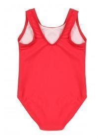 Younger Girls Red Be Awesome Swimsuit