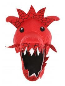 Boys Red Dress Up Dragon Hat