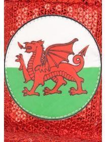 Red Welsh Hat Headband