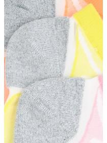 Womens 3PK Cushioned Microfibre Socks