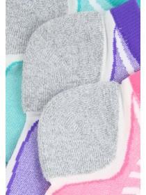 Womens 3PK Cushioned Microfibre Socks