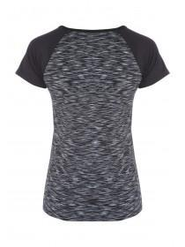 Womens Active Spacedye T-Shirt