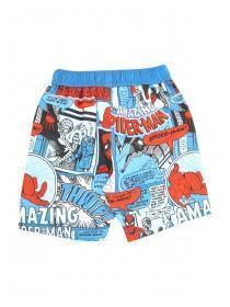 Younger Boys Blue Spiderman Boardshorts
