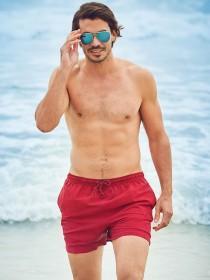 Mens Red Swim Shorts
