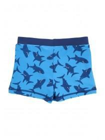 Younger Boys Blue Shark Trunks