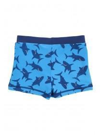Younger Boys Blue Shark Trunks