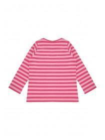 Younger Girls Long Sleeve Pinstripe T-Shirt
