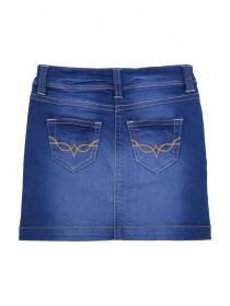 Younger Girls Blue Denim Skirt