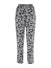 Womens Black PJ Style Trousers