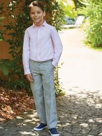 Older Boys Grey Formal Trousers