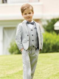 Younger Boys Grey Blazer