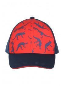 Younger Boys Blue Dino Snapback