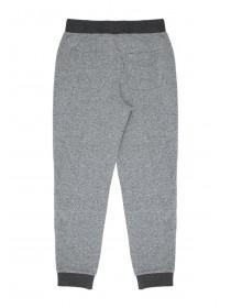 Older Boys Grey Quilted Knee Joggers