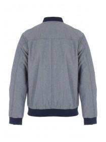 Mens Blue Bomber Jacket