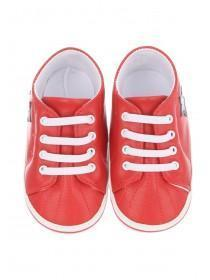 Baby Boys Red Star Trainers