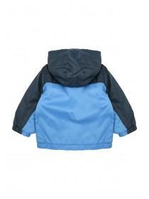 Baby Boys Blue Fleece Lined Kagoule